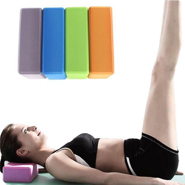 EVA Yoga Block Brick Sports Exercise Fitness Gym Workout Stretching