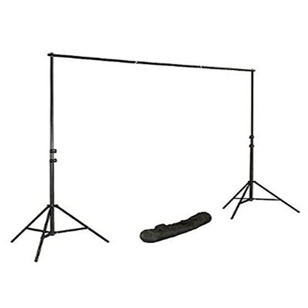 Photo Video Studio 10 Ft Adjustable Background Stand Backdrop