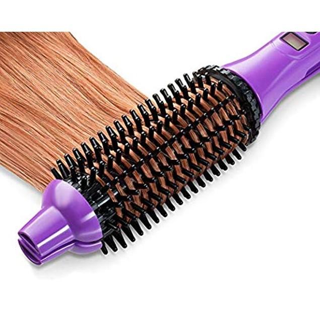 Perfecter Flat Iron-Hot Brush Combo Hair Care Kit- 3 Colors