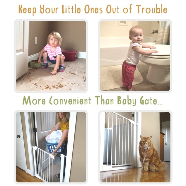 Door Buddy® Child Door Lock With Foam Baby Door Stopper