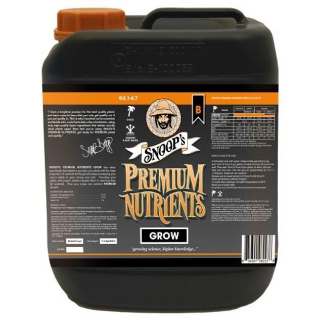 Snoop's Premium Nutrients Grow B Coco 10 Liter (2/Cs)
