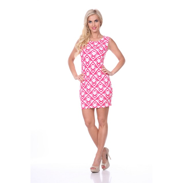 Printed Sheath Dress - 5 Prints