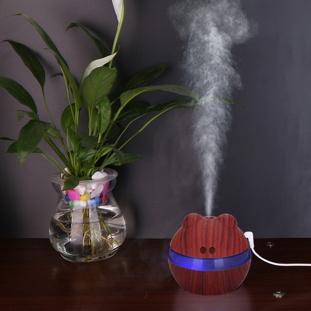 LED Ultrasonic Aroma Essential Oil Diffuser Aromatherapy Air Humidifier