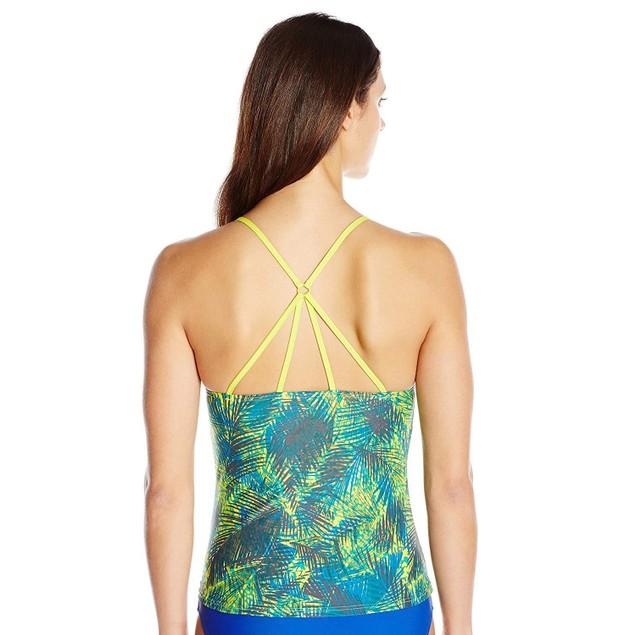 Lole Women's Muara Tankini Shirt, Spring Tropical, X-Small