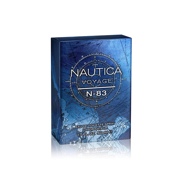 Nautica N-83 Voyage Eau de Toilette, Cologne for Men, Classic Scent, 1.7