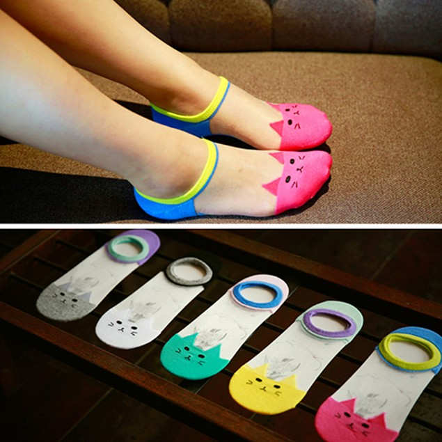 Women's Fashion Transparent Summer Invisible Sock