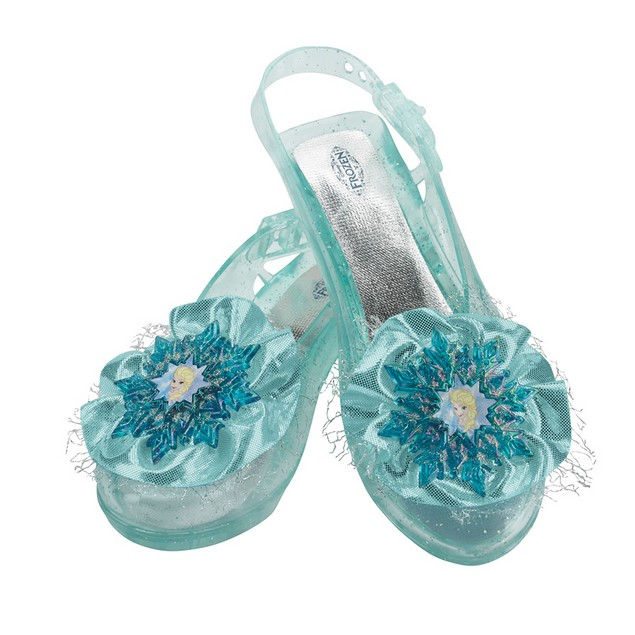 Elsa Frozen Girls Shoes Disney Snow Queen of Arendelle Youth Child Slippers