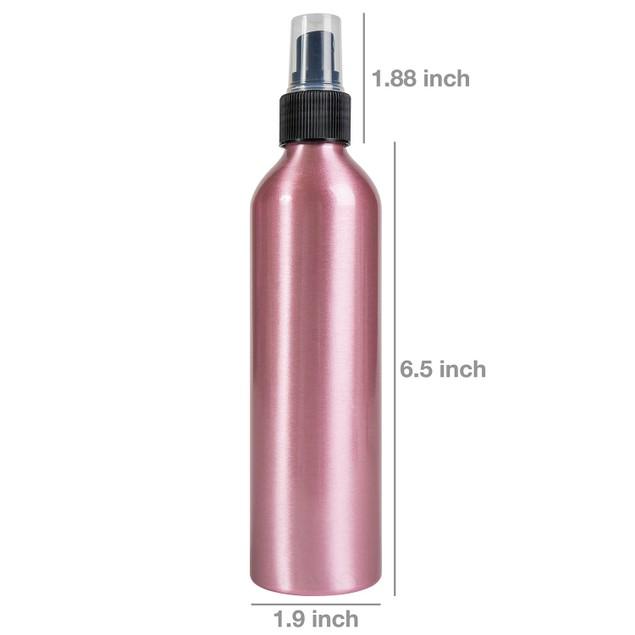 SHANY Stylist's Choice Pink Aluminum Bottle