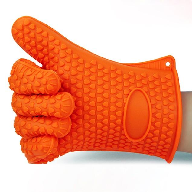 Kitchen Heat Resistant Silicone Glove Oven Pot Holder