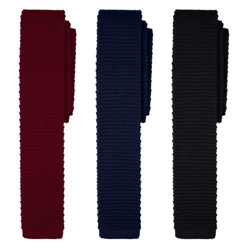 Jacob Alexander Solid Color Men/'s Regular Tie