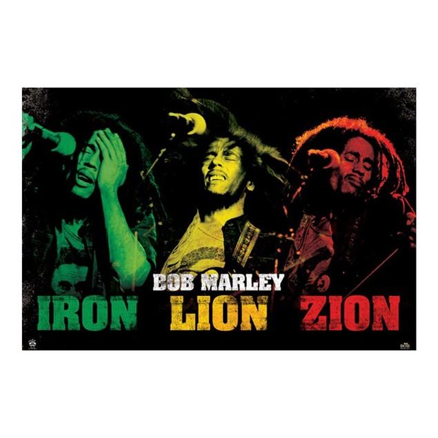 Bob Marley Smoke Trio Poster