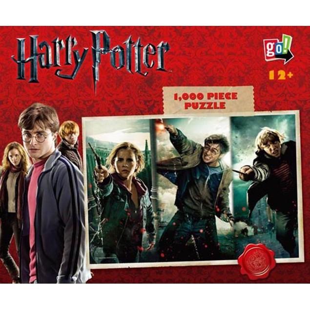 Harry Potter 1000 Piece Puzzle, 1,000 Piece Puzzles by Go! Games