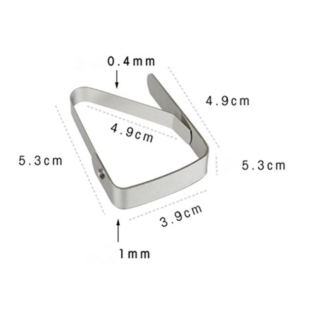 Stainless Steel Tablecloth Tables Cover Clips Holder Clamps Party Tool