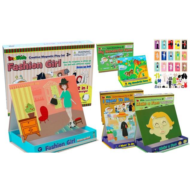 Zummy Educational Kids Creative Magnetic Play Set Patterns