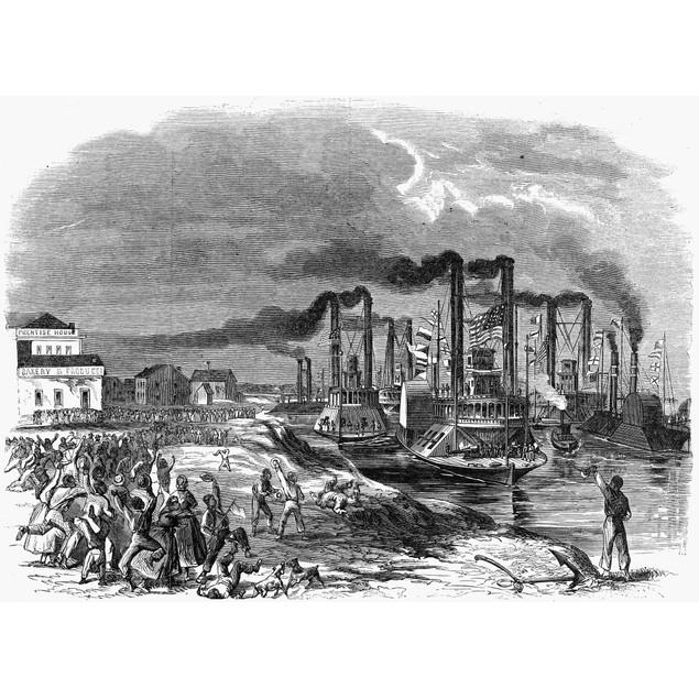 Capture Of Vicksburg, 1863. /Nthe Capture Of Vicksburg, Mississippi, By Uni