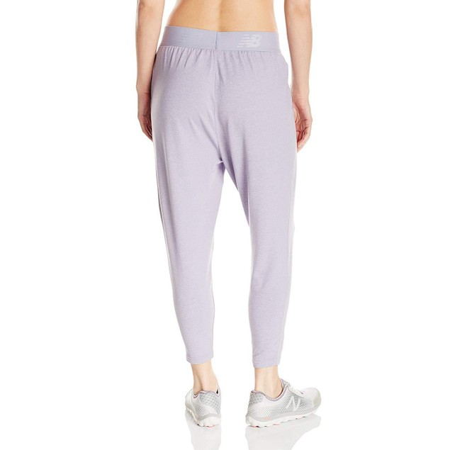 New Balance Women's Slouch Dance Pant, Daybreak Heather, X-Large