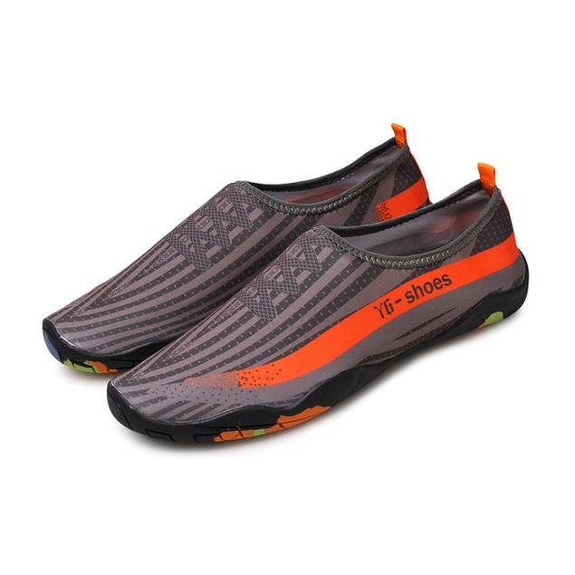 Unisex Men Women Printed Quick-Dry Swim Surf Socks Yoga Skin Sports Shoes