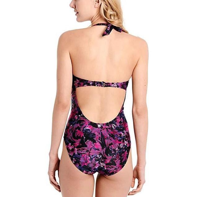 Lole Women's Natadoline One-Piece Crushed Berries Digifleur Swimsuit