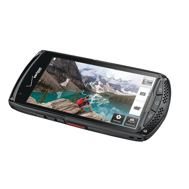 "KYOCERA Brigadier 16GB 4.5"" 4G LTE Verizon,Black(Refurbished)"