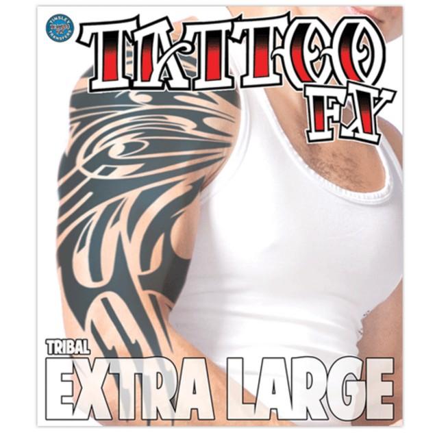 Tribal Extra Large Temporary Tattoo
