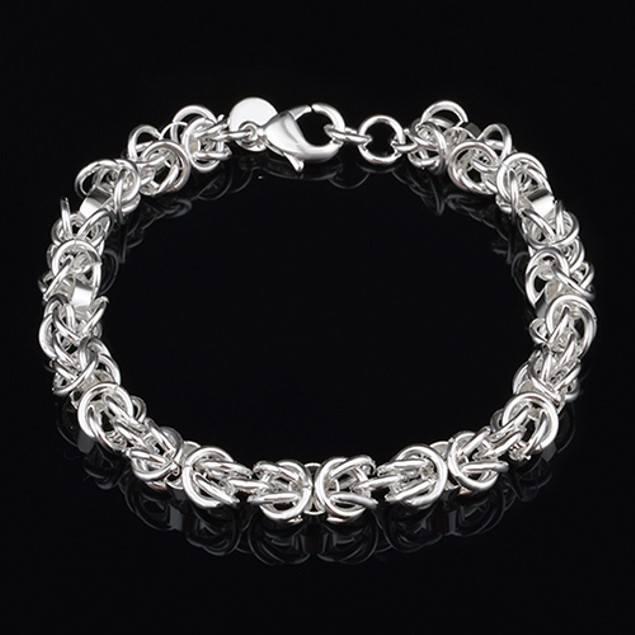 Women Vogue 925 Sterling Silver Bracelet