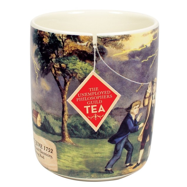 Benjamin Franklin Electrici-Tea Coffee Mug