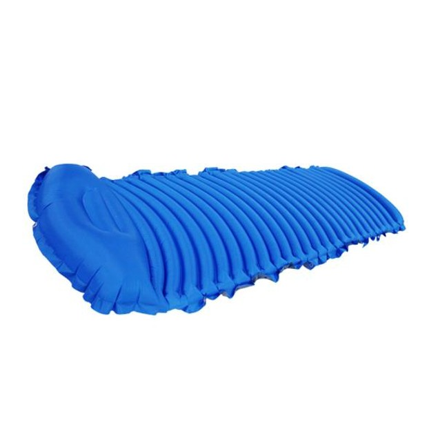 Apricot Inflatable Car Mobile Cushion Seat Sleep Rest Mattress Air Bed