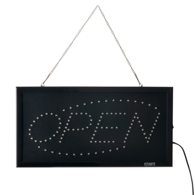"""Fitnate® OPEN Sign 18.9""""x9.84""""LED OPEN Sign Electric Billboard Super Bright"""