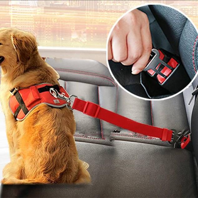 Adjustable Dog Car Safty Belt