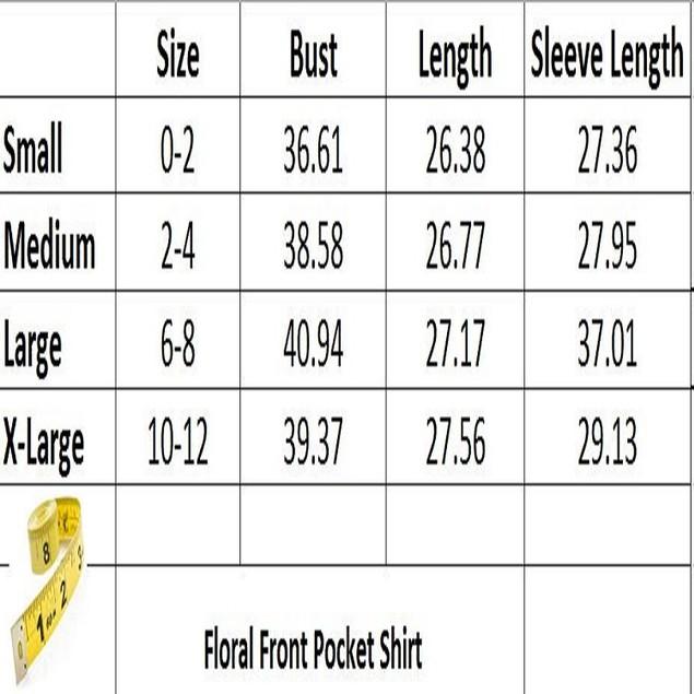 Floral Pocket Shirt