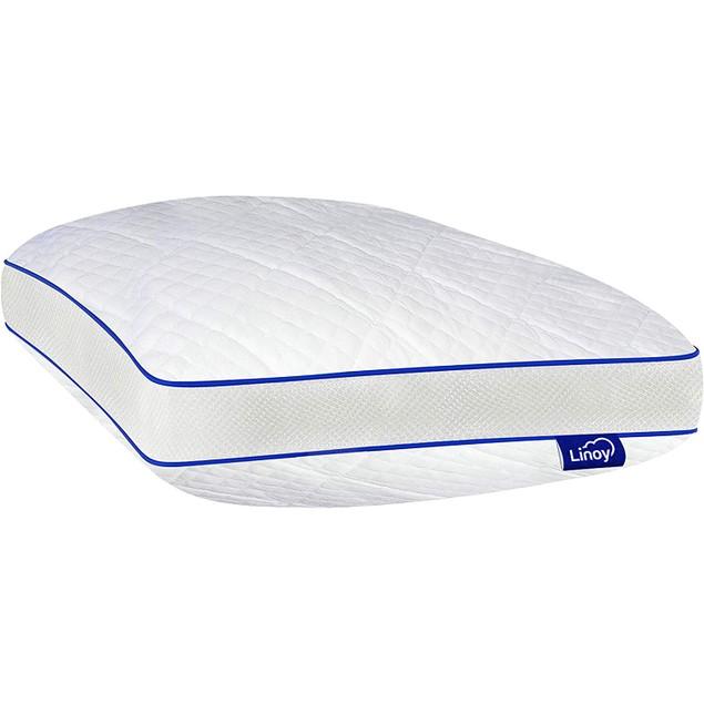 SERAFINA Linoy Queen Ventilated Gel Infused Memory Foam Pillow