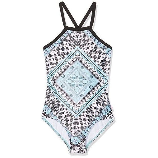 Seafolly Big Girls' Aztec Tapestery One Piece Swimsuit AUS SIZE 8