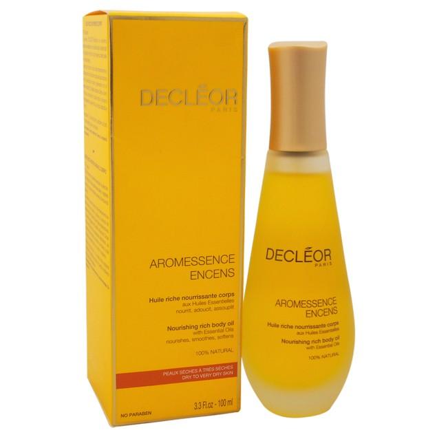 Aromessence Encens Nourishing Rich Body Oil Decleor 3.3oz