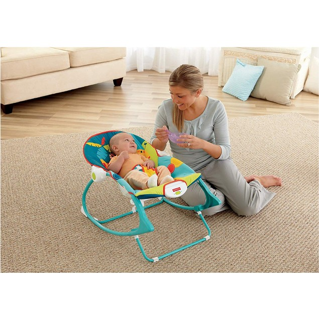 Fisher-Price Infant-to-Toddler Rocker - Circus Celebration, Bunny