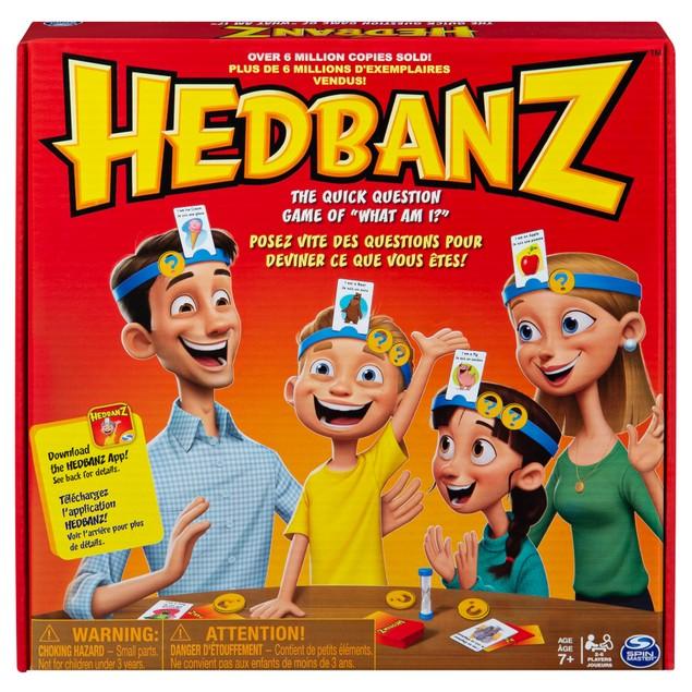 Hedbanz Original Game, Helps Kid Develop Deductive Reasoning Skills,