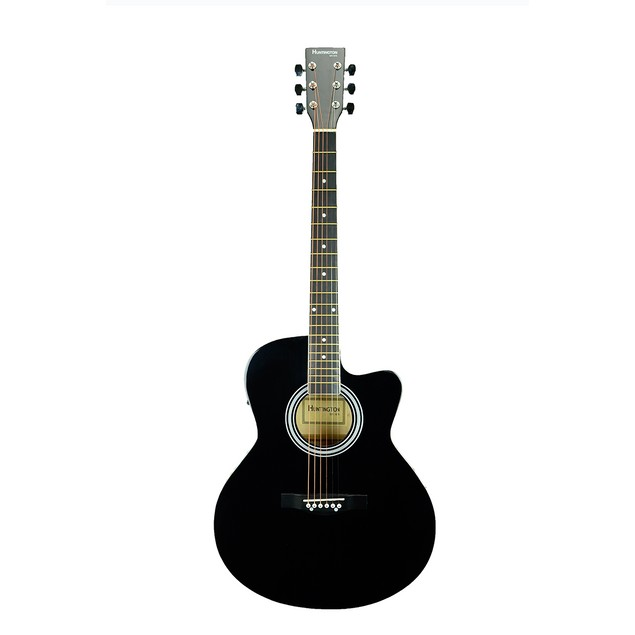 Dreadnought Cutaway Acoustic Electric 6 String Guitar