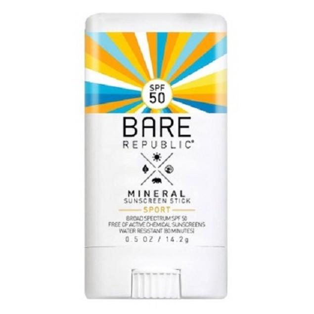 Bare Republic Sunscreen Sport Stick SPF 50 (OVERSTOCK SALE)