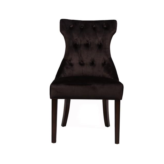 Chic Home Shelley Velvet Dining Side Chair, Set of 2