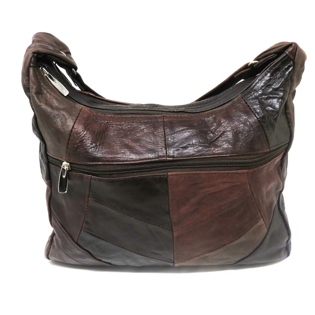 Soft Patches Leather Shoulder/Cross body Purse