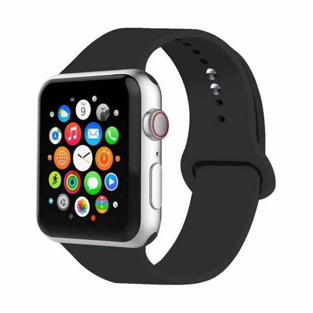 Compatible with Apple Watch Band Beautiful Colors Silicone Watch Band