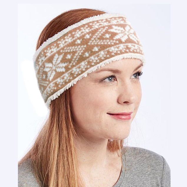 Polar Extreme Women's Cozy Insulated Sherpa Lined Headband