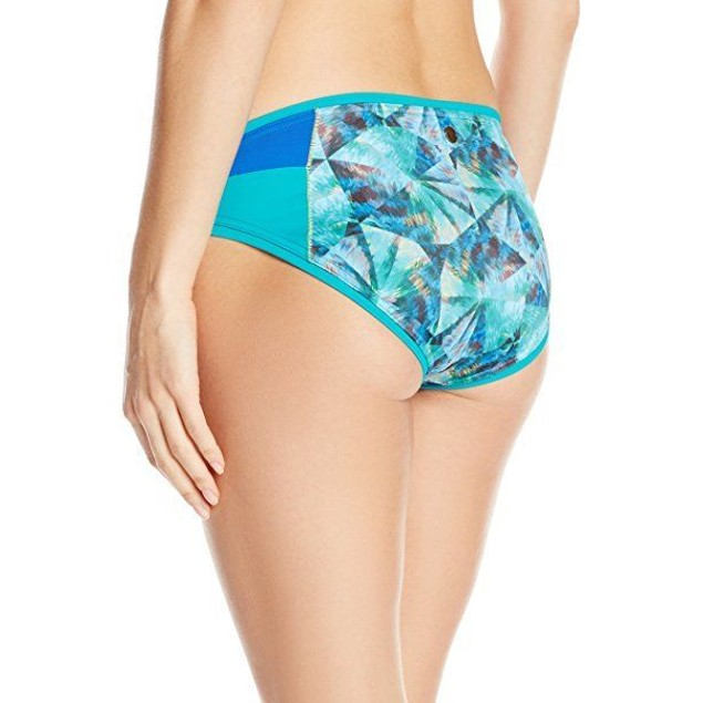 prAna Women's Milou Bottom, Emerald Pinwheel SZ S