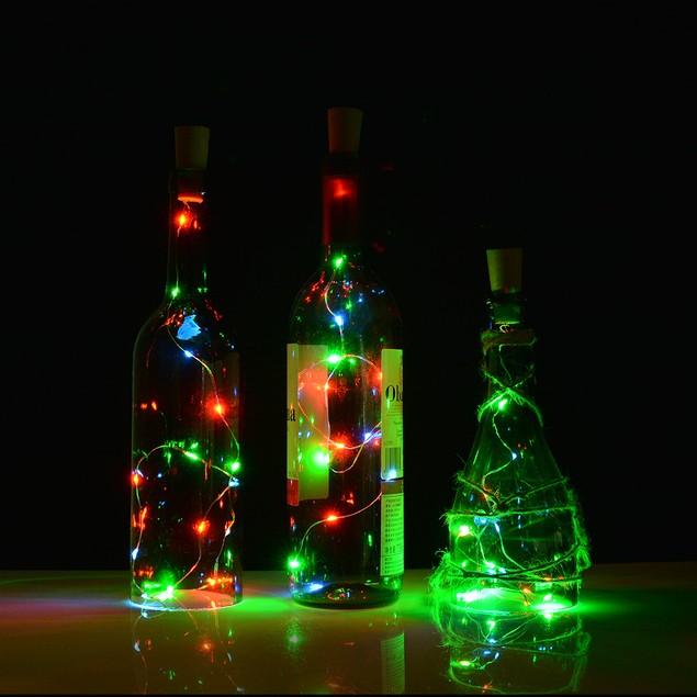AGPtek Bottle Mini String Lighting Cork shape lights 75cm/30inch Copper