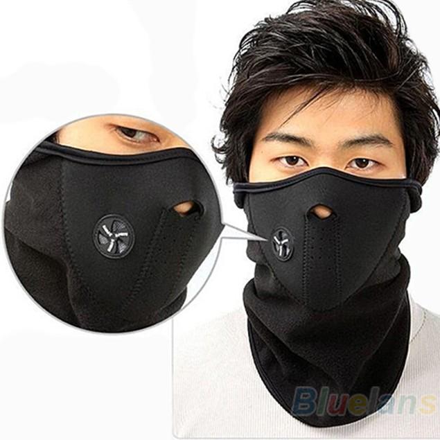 Unisex Ski Snowboard Motorcycle Bicycle Winter Sport Face Mask Neck Warmer