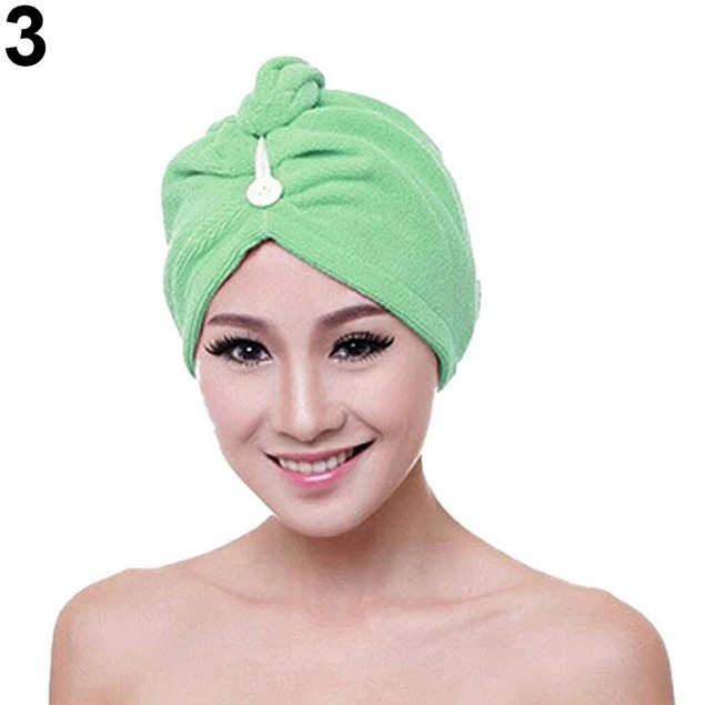 Women Hair Absorbent Quick Drying Towel