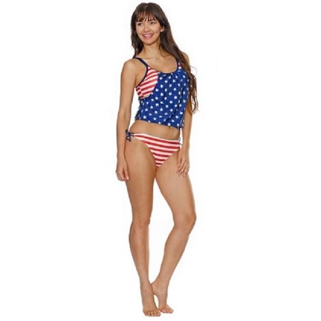 American Flag Tankini