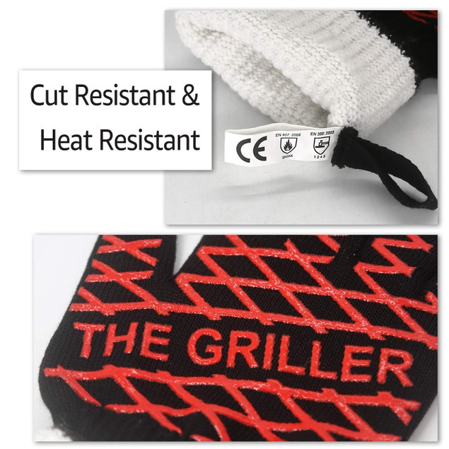 Evridwear The Griller BBQ Gloves