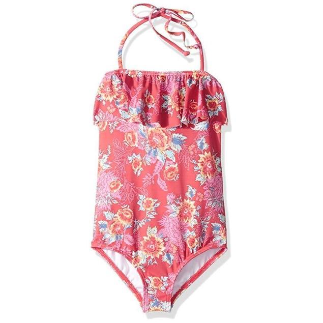 Billabong Big Girls' Rosie Daze One Piece Swimsuit SZ: 6X