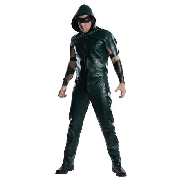 Green Arrow Costume Oliver Queen Oli Ollie DC Comics CW TV Show Arrowverse