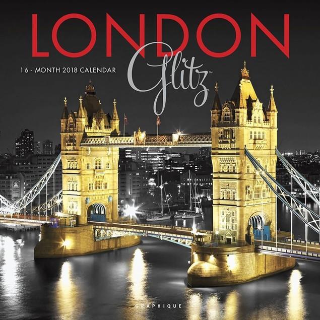 London Glitz Wall Calendar, England by Calendars